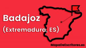 Mapa Escritores Badajoz
