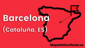 Mapa Escritores Barcelona