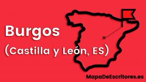 Mapa Escritores Burgos