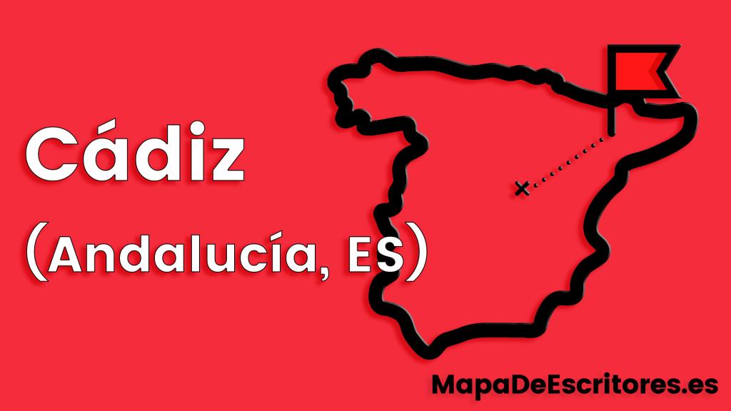 Mapa Escritores Cadiz