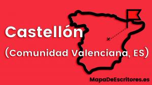 Mapa Escritores Castellon