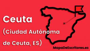 Mapa Escritores Ceuta