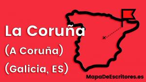 Mapa Escritores Coruña