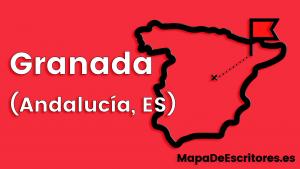 Mapa Escritores Granada