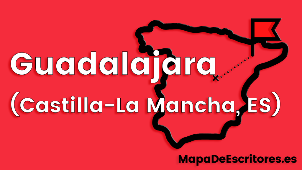 Mapa Escritores Guadalajara
