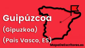 Mapa Escritores Guipuzcoa
