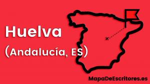 Mapa Escritores Huelva