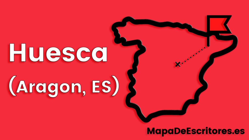 Mapa Escritores Huesca