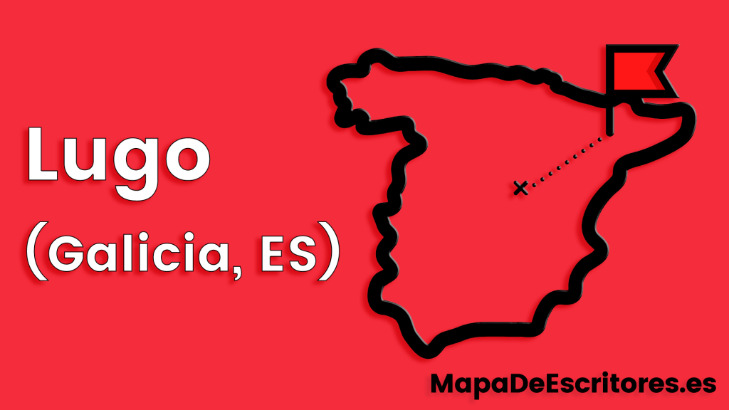Mapa Escritores Lugo
