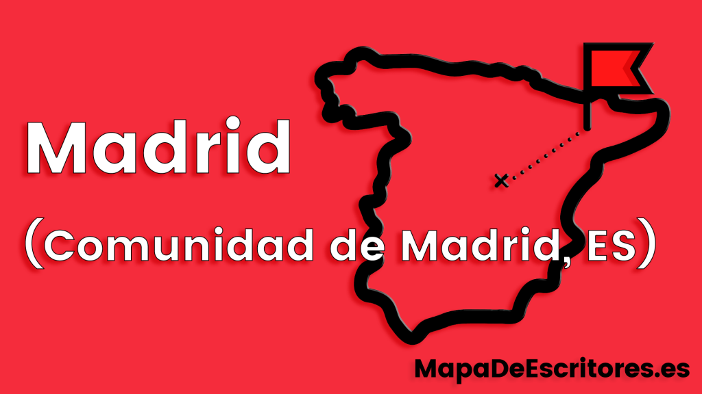 Mapa Escritores Madrid