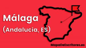 Mapa Escritores Malaga