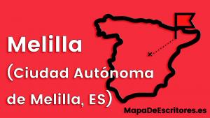 Mapa Escritores Melilla
