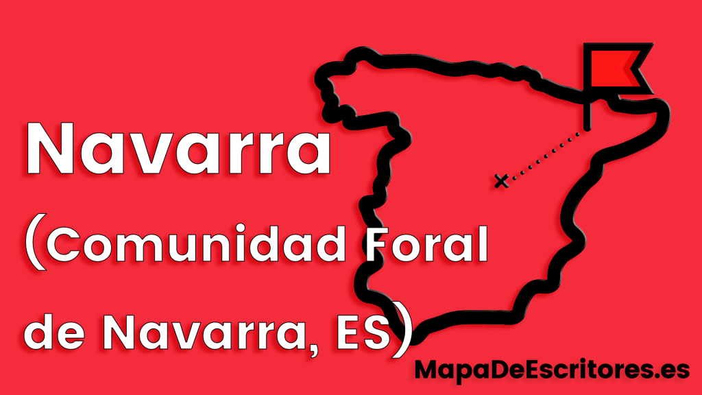 Mapa Escritores Navarra