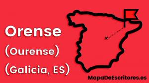 Mapa Escritores Orense