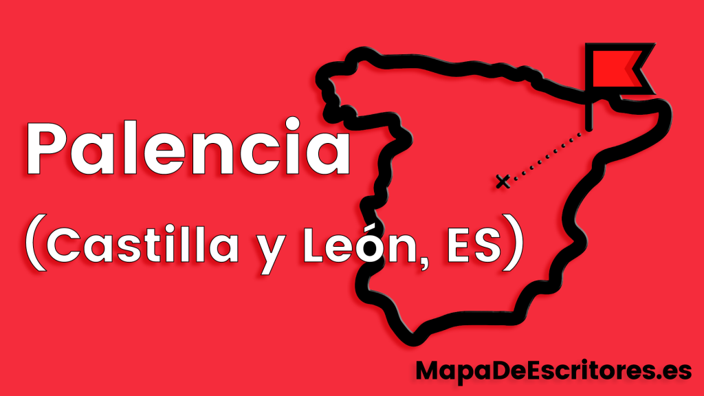 Mapa Escritores Palencia
