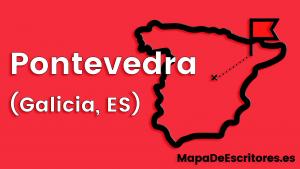 Mapa Escritores Pontevedra