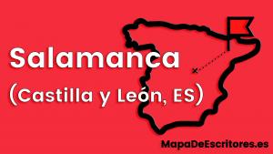 Mapa Escritores Salamanca