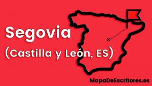 Mapa Escritores Segovia