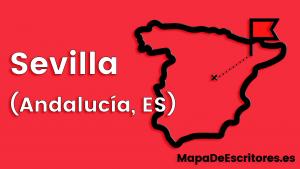 Mapa Escritores Sevilla
