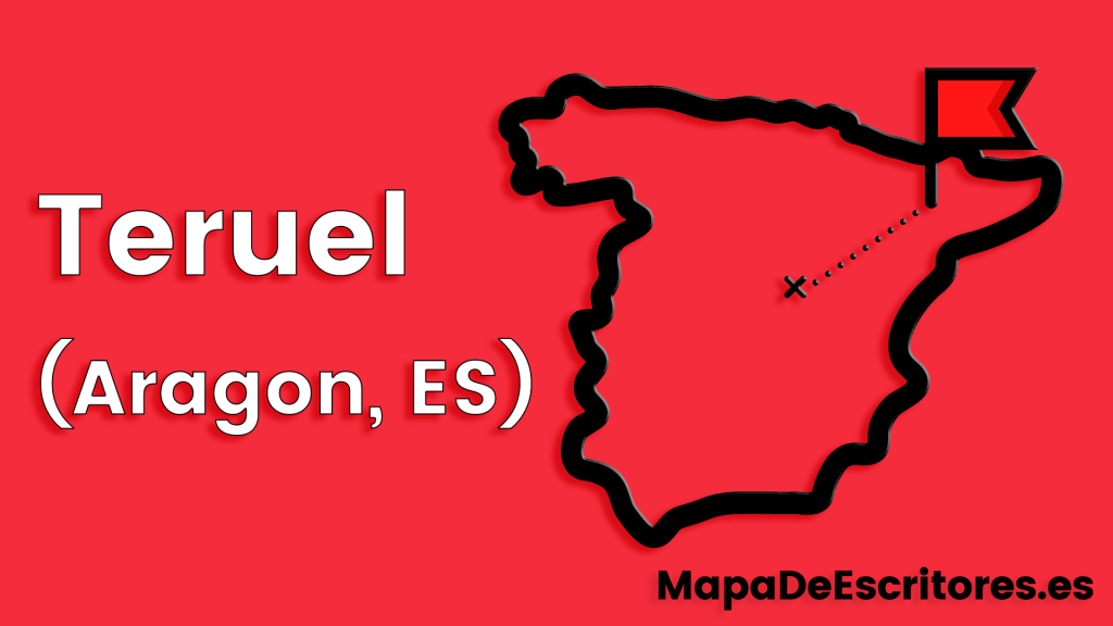 Mapa Escritores Teruel