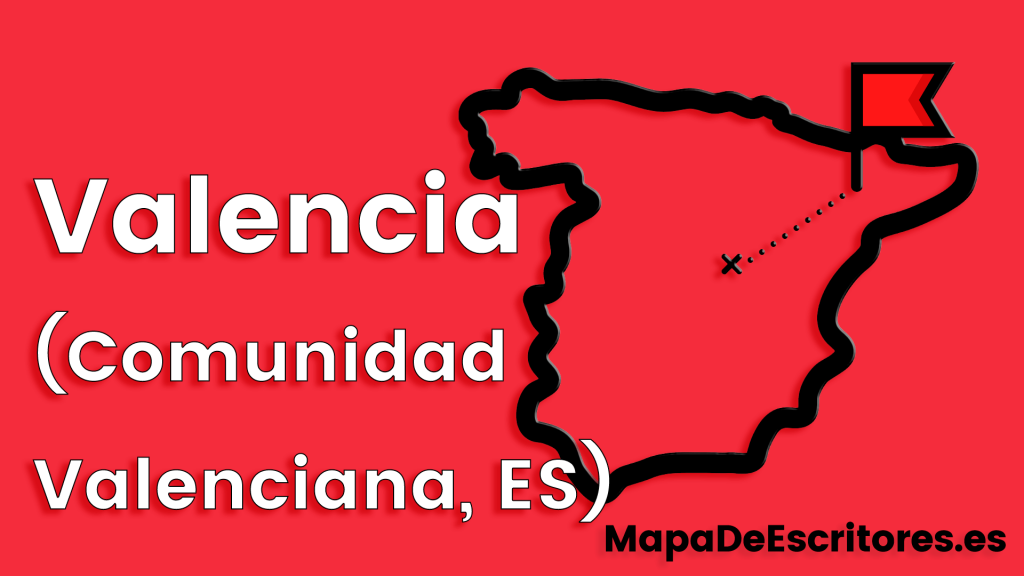 Mapa Escritores Valencia