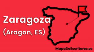 Mapa Escritores Zaragoza