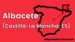 Mapa Escritores Albacete