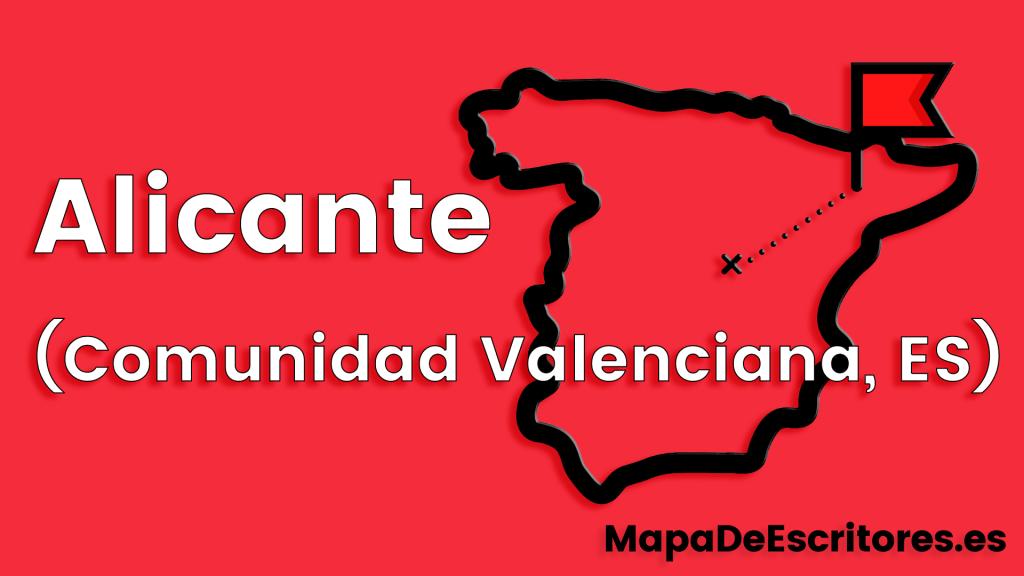Mapa Escritores Alicante