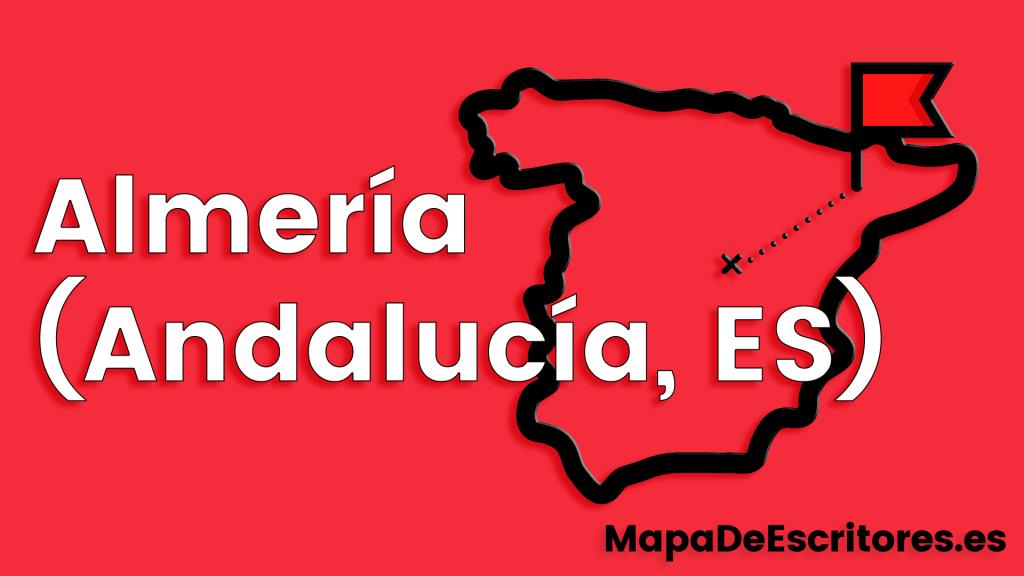 Mapa Escritores Almeria